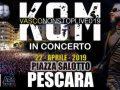 Kom live, Pasquetta a Pescara con la musica di Vasco Rossi