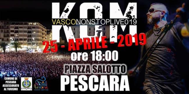 Kom Pescara 25 aprile 2019
