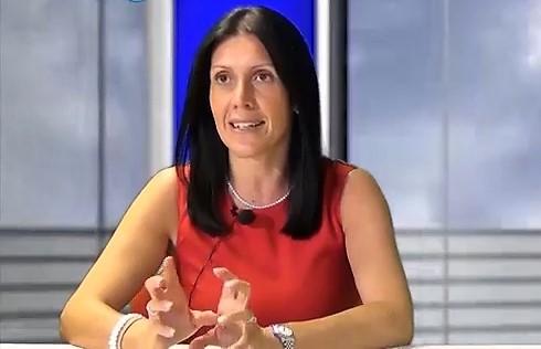 Monica Pelliccione, autrice del libro