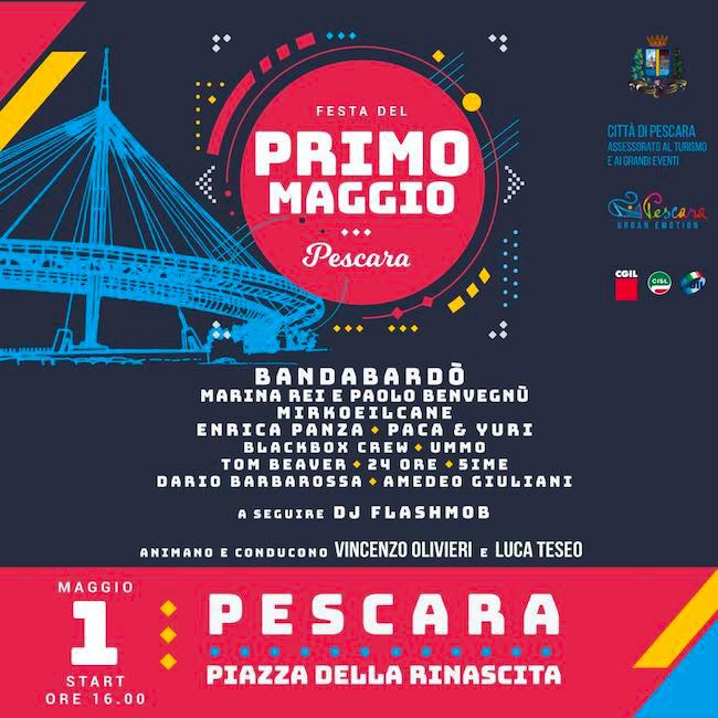 Primo Maggio 2019 Pescara