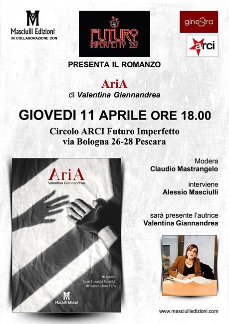 Valentina Giannandrea Aria 11 aprile 2019