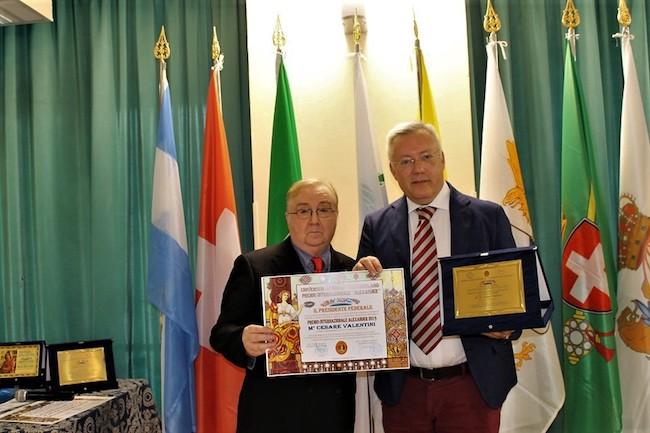 Valerio Giovanni Ruberto e il M° Cesare Valentini