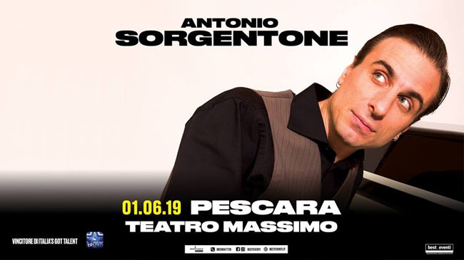 Antonio Sorgentone Pescara 1 giugno 2019