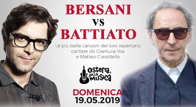 bersani vs battiato 19 maggio 2019