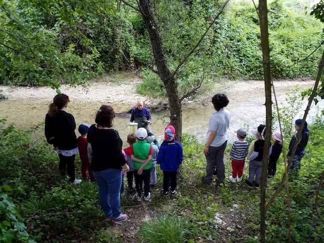 educazione ambientale fiume
