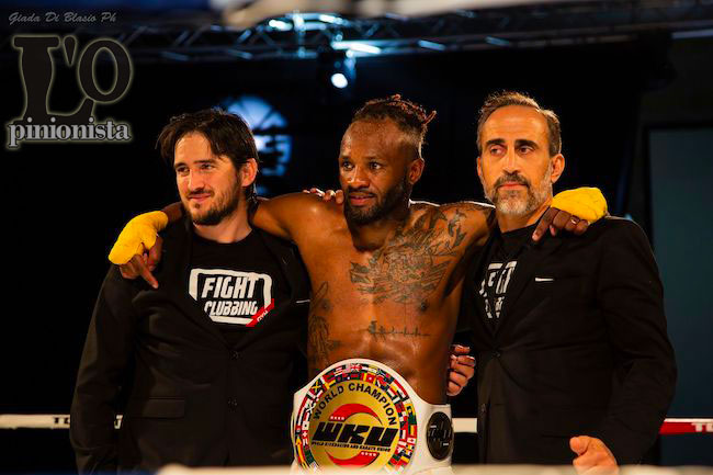 Fight Clubbing 2019 Pescara premiato Johane Beausejour