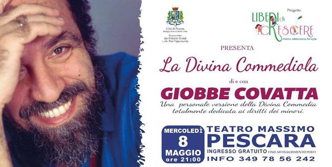 Giobbe Covatta Pescara 8 maggio 2019