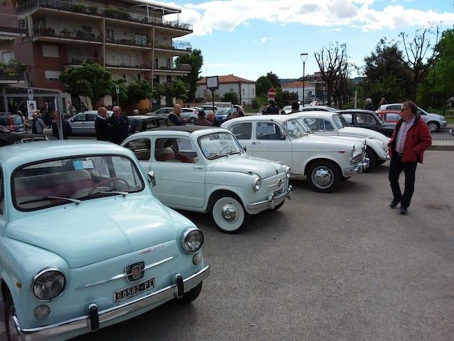 Auto d'epoca a Spoltore, le foto del raduno