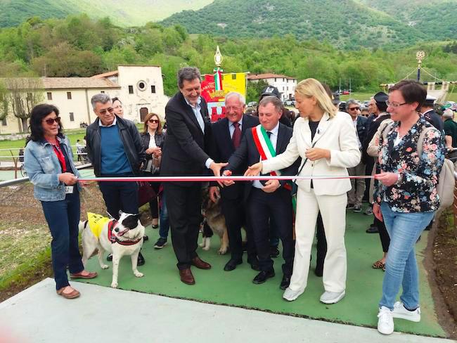 inaugurazione ponte Castel di Sangro