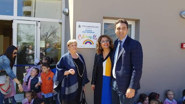 inaugurazione scuola infanzia colonnetta montesilvano
