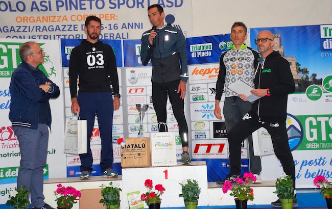 podio triathlon pineto 2019