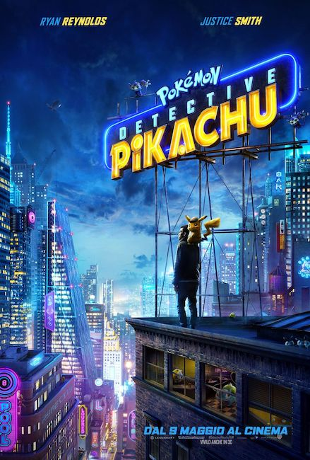 pokemon detective pikachu locandina film