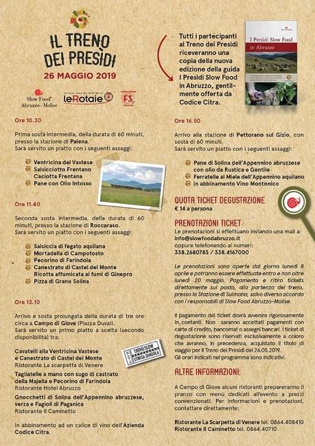 Transiberiana Dabruzzo Calendario 2020.Il Treno Dei Presidi Il 26 Maggio 2019