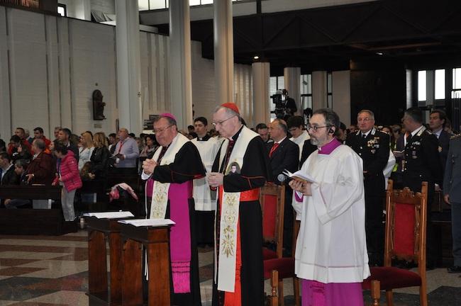 veglia mariana internazionale San Gabriele