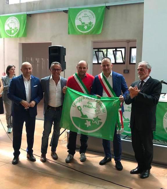 foto della bandiera verde Montesilvano 2019