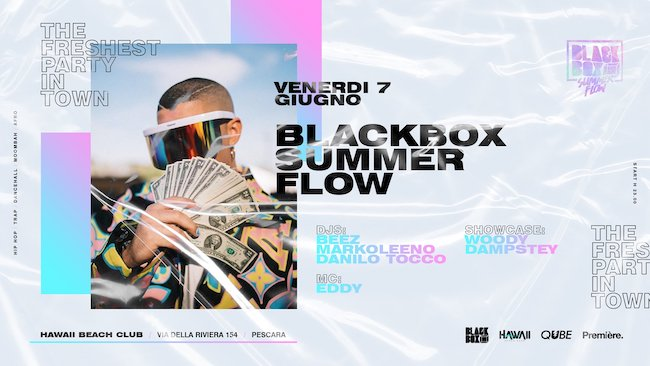 blackbox summer flow 7 giugno 2019