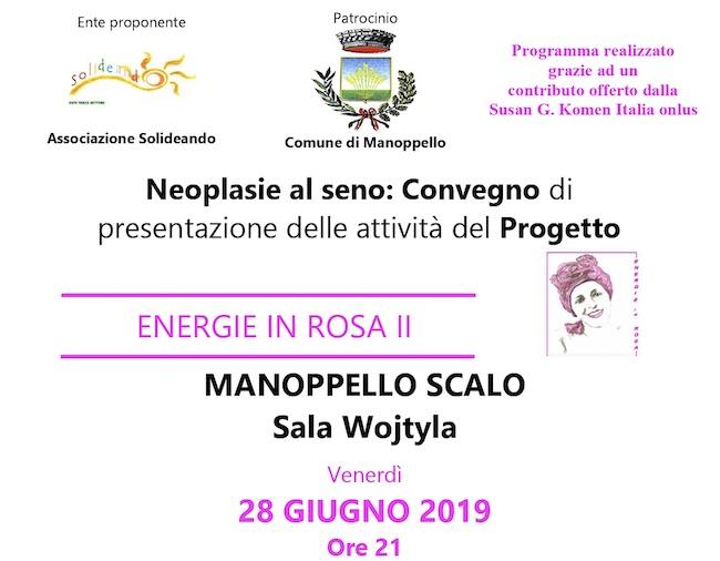 convegno neoplasie al seno 28 giugno 2019