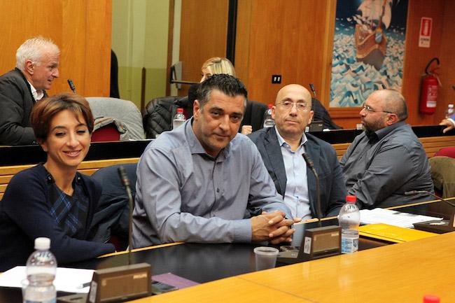 Il Consiglio Comunale con il Presidente Luciano D'Alfonso