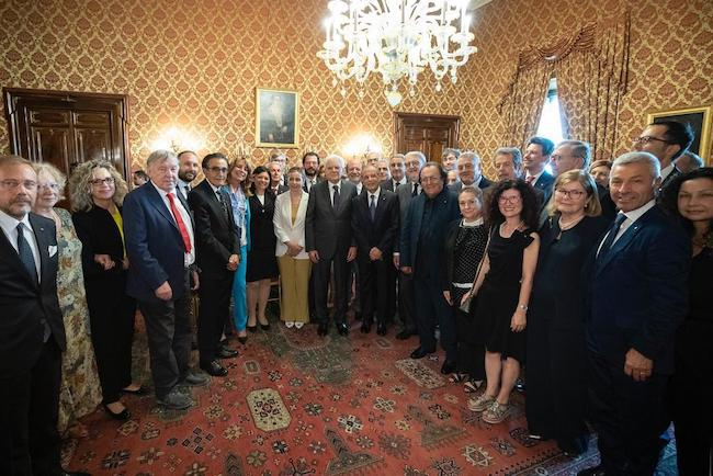 gruppo Lilt con Presidente Mattarella