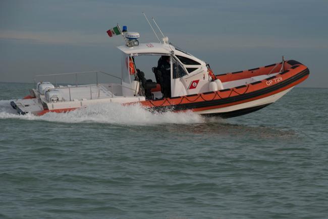 guardia costiera mare
