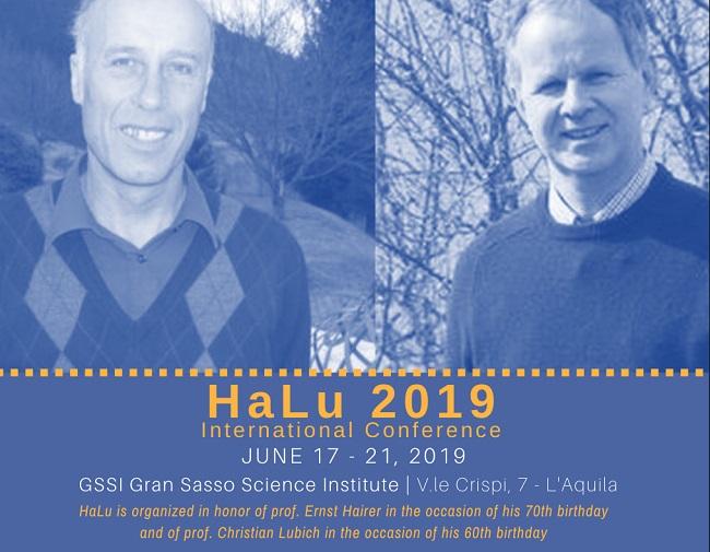 Ha-Lu 2019, al GSSI un evento dedicato alla grande matematica
