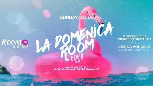 la domenica room beach 30 giugno 2019