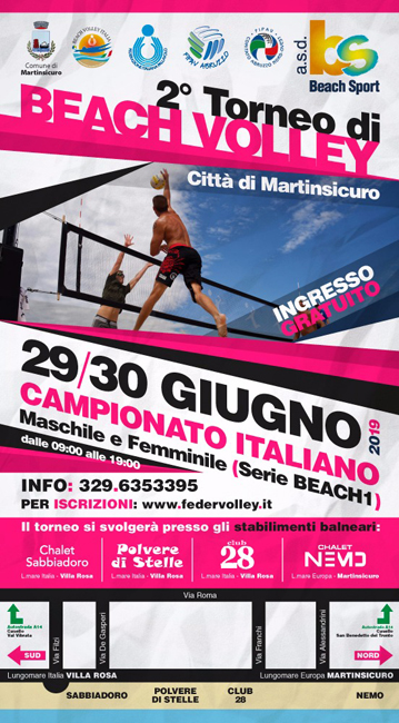 "2° Torneo di Beach Volley ""Città di Martinsicuro"""