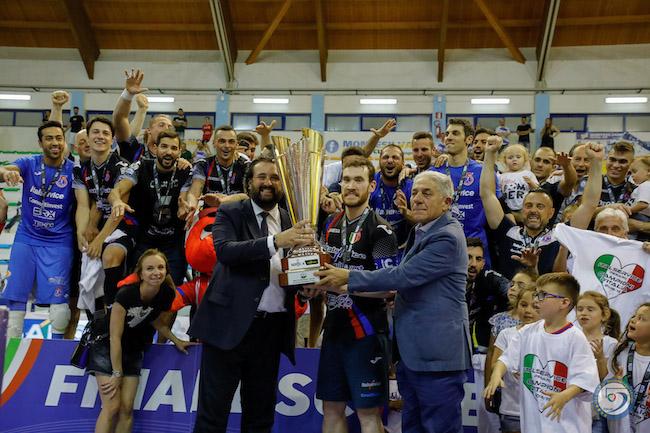 Pesaro c5 campione d'Italia 2018-2019