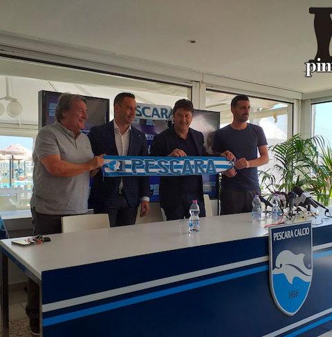 presentazione allenatore Luciano Zauri Pescara Calcio