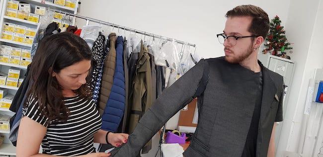prototipo giacca its moda Pescara