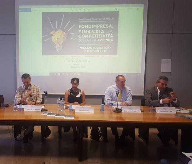 Mozzagrogna, il report del Roadshow di Fondimpresa Abruzzo