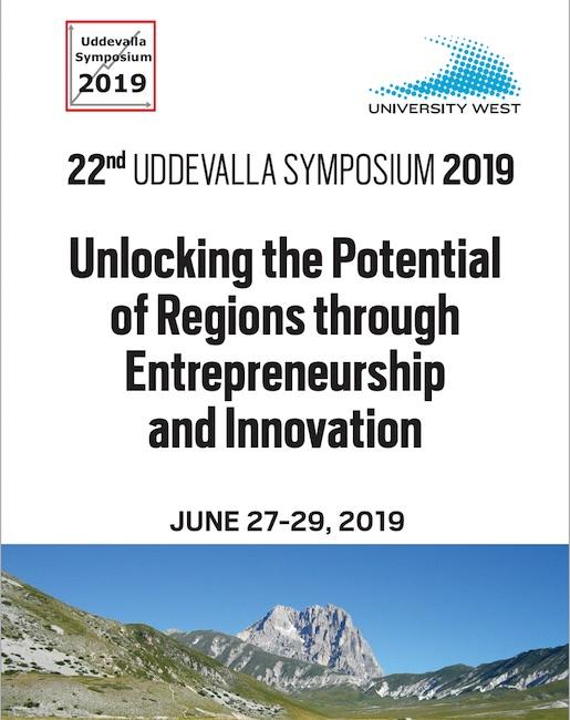 Uddevalla Symposium, edizione 2019 sullo sviluppo regionale