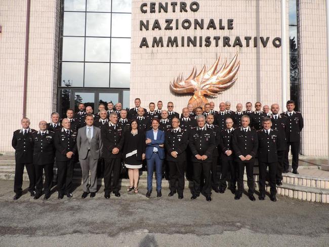 visita presidente tridico arma carabinieri chieti