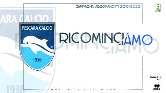Abbonamenti Pescara calcio 2019-2020