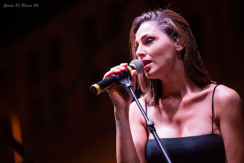 Anna Tatangelo Pescara 8 luglio 2019