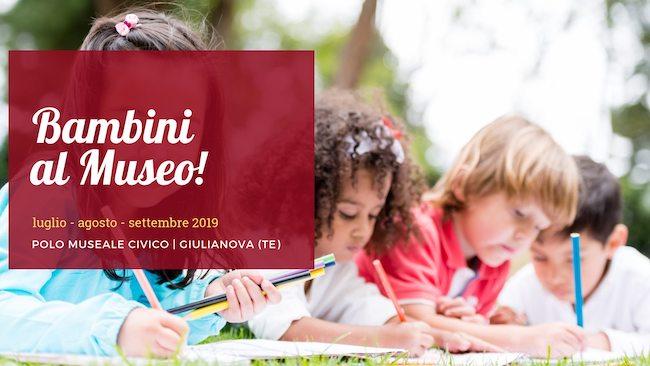 bambini al museo 2019 Giulianova