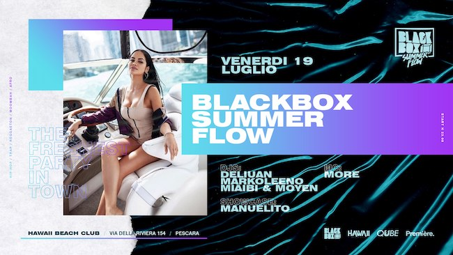 blackbox summer flow 19 luglio 2019