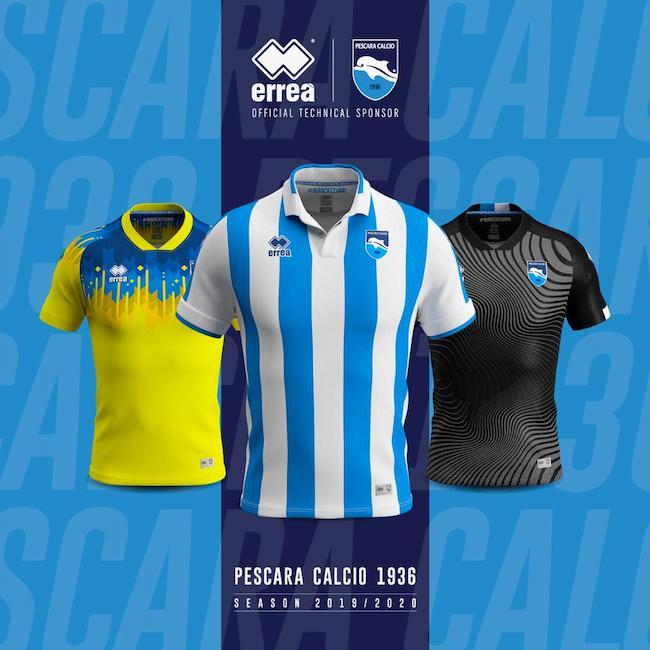 divise pescara calcio 2019 2020