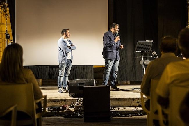 Federico Perrotta e Piero Mazzocchetti in un divertente duetto