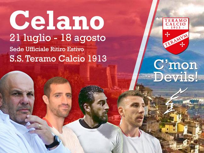 ritiro precampionato Teramo a Celano 2019