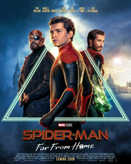 spider man far from home locandina