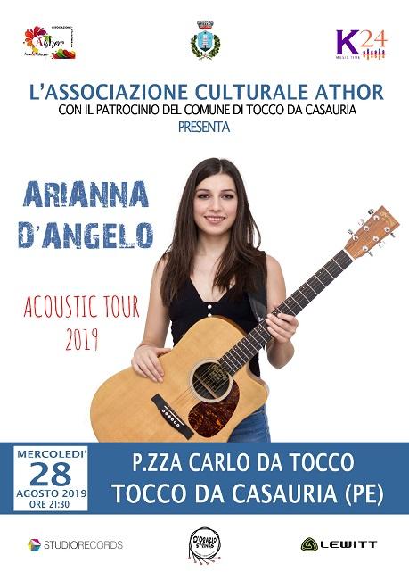 Arianna D'Angelo 28 agosto 2019