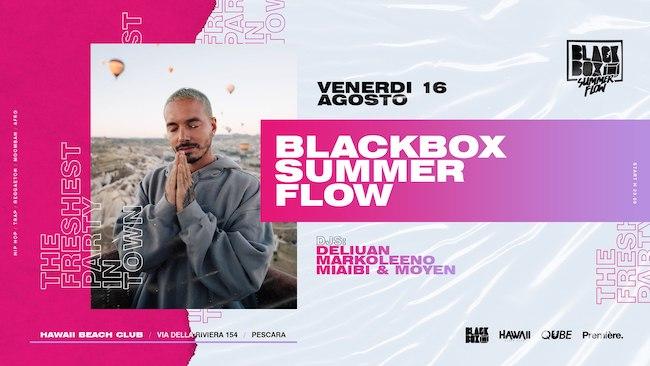 blackbox summer flow 16 agosto 2019