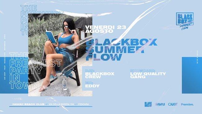 blackbox summer flow 23 agosto 2019