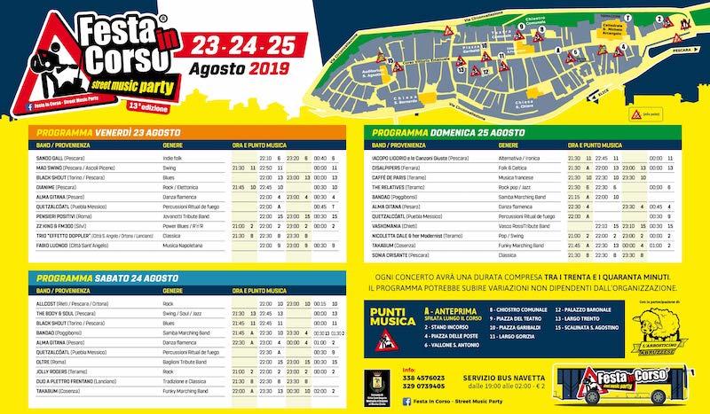 festa in corso 2019 Città Sant'Angelo