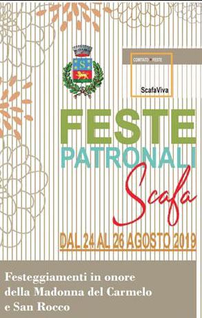 feste patronali Scafa 2019