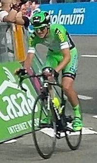 il ciclista Giulio Ciccone