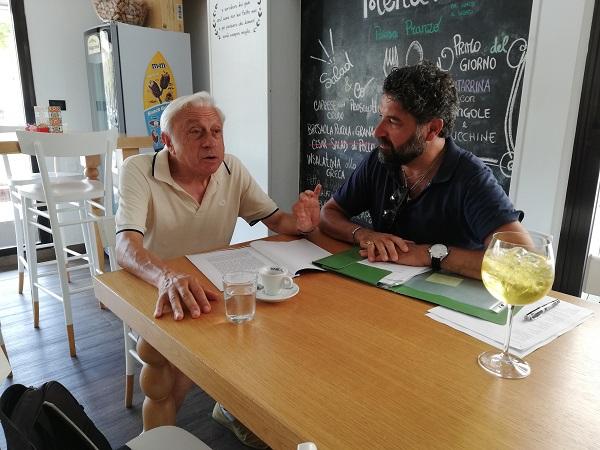 Mario Giunco e Walter De Berardinis autori della sco