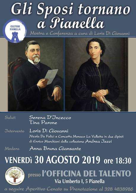 gli sposi tornano a Pianella 30 agosto 2019