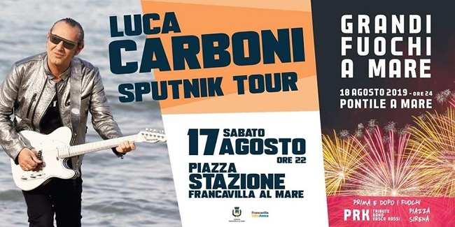 Luca Carboni, lo Sputnik Tour approda a Francavilla al mare